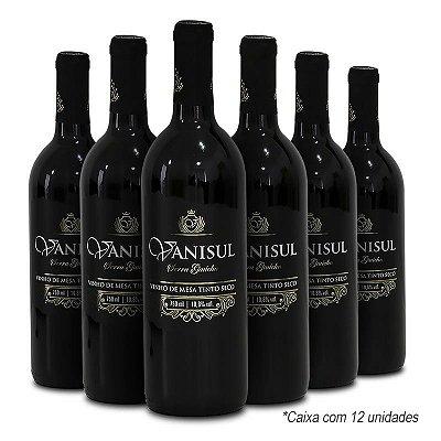 Vanisul - Vinho de Mesa Tinto Seco 750 ml (12 garrafas)