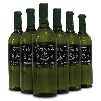 Vanisul - Vinho de Mesa Branco Seco 750ml (6 garrafas)