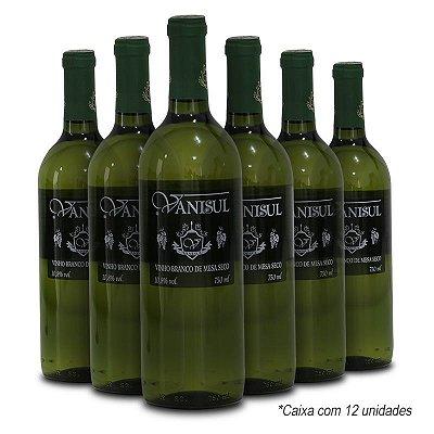 Vanisul - Vinho de Mesa Branco Seco 750ml (12 garrafas)