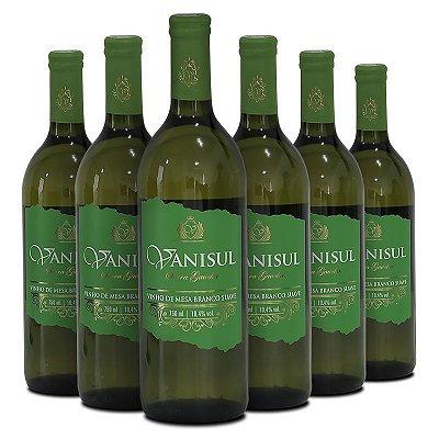 Vanisul - Vinho de Mesa Branco Suave - 750ml (6 garrafas)