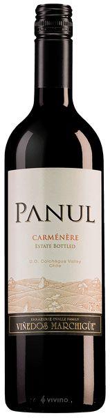 Vinho Panul Carmenere 750ml - Chile