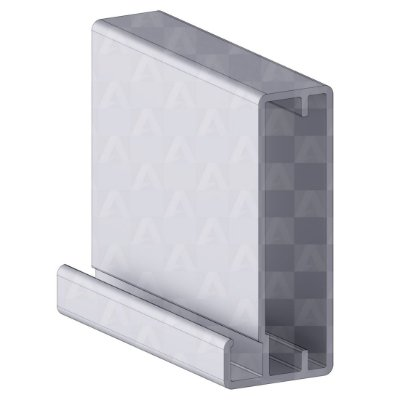 Perfil de Aluminio Sirena 6 mts