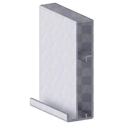 Perfil de Alumínio Galhardo 6 mts