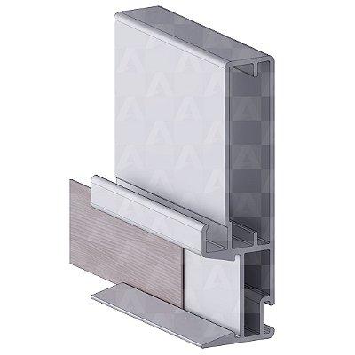 Perfil Alumínio 3366 6 mts