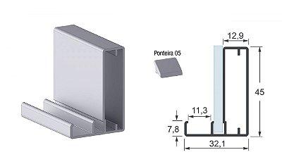 Perfil Puxador 5580 6 mts