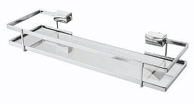 Porta Xampu Piatina Cromado