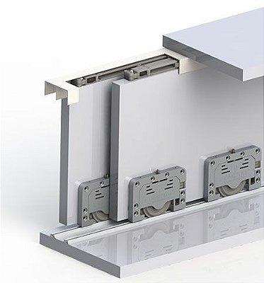 Sistema de Correr Robus + Versatile 2 Portas