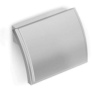 Puxador Plástico Alfa 32 mm Cromado