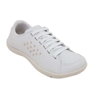 3bf6d90f8 Tênis Lynd Lugano branco ouro - 9079