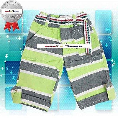 Bermuda Jeans Juvenil no