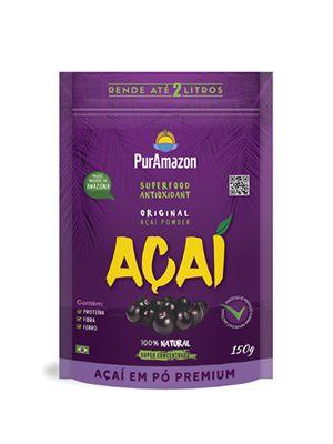 Açaí em pó PurAmazon 150g Premium