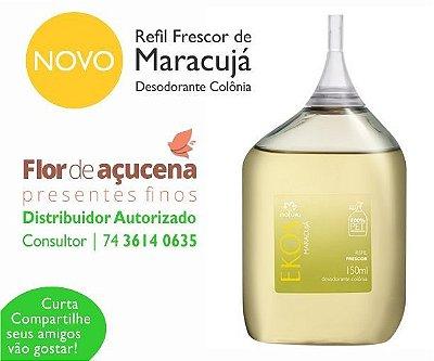 Refil Frescor de Maracujá Desodorante Colônia Cód. 42098