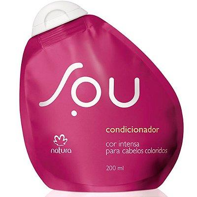 Condicionador Cor Intensa para Cabelos Coloridos SOU - 200ml