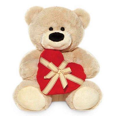 Urso De Pelúcia Coração