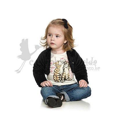 Bolero Bebê-Infantil Menina Charmosinho Elian