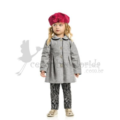 Conjunto Longo Infantil Menina Chique Kaiani