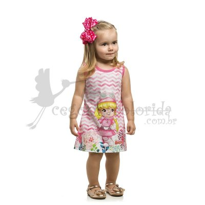 Vestido Regata Infantil Penelope Charminho