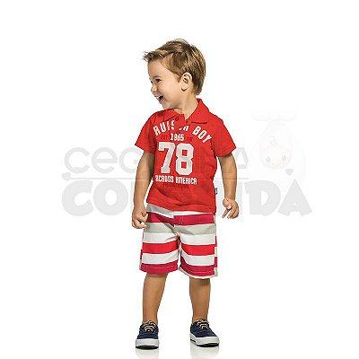 Conjunto Polo Infantil Menino Cruiser Boy