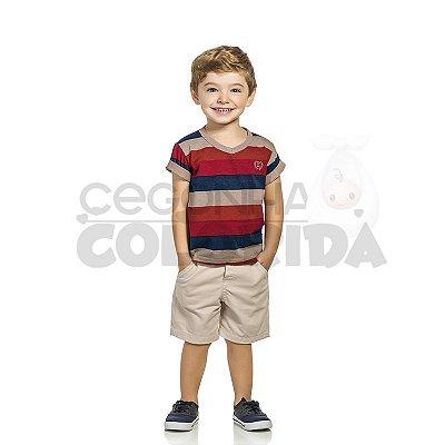 Conjunto Manga Curta Infantil Menino Elian