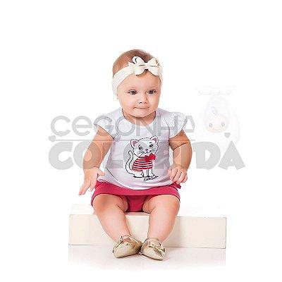 Conjunto Curto Bebê Menina Little Sailor Kiko Baby