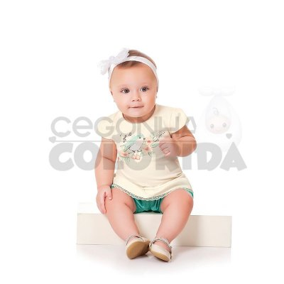 Conjunto Curto Bebê Menina Little Bird Kiko Baby
