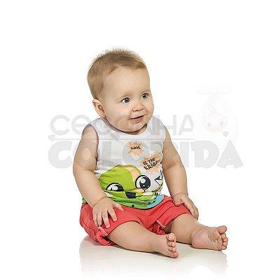 Camiseta Regata Bebê Menino Kraken