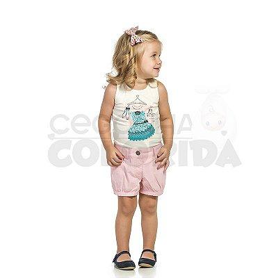Blusinha Regata Infantil Menina My Style