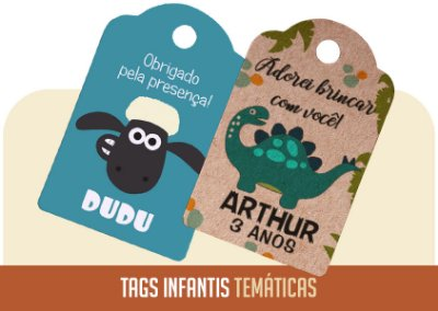 Tags Infantis