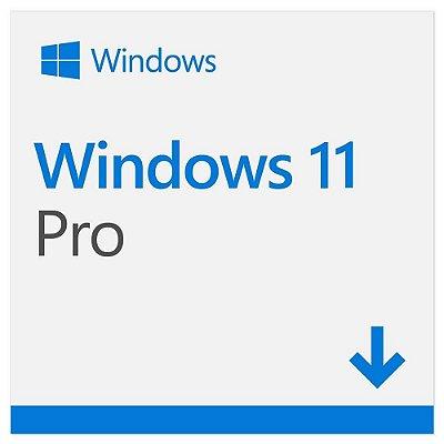 Microsoft Windows 11 Pro 32/64 Bits Original + Nota Fiscal