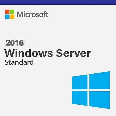 Microsoft Windows Server 2016 Standard - Licença Original + Nota Fiscal