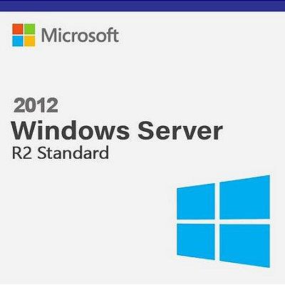 Microsoft Windows Server R2 2012 Standard - Licença Original + Nota Fiscal