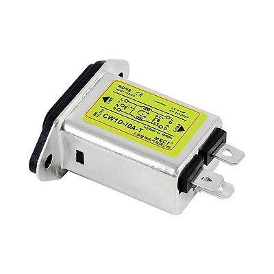 Filtro Emi 10A Tomada - CW1D-10A-T