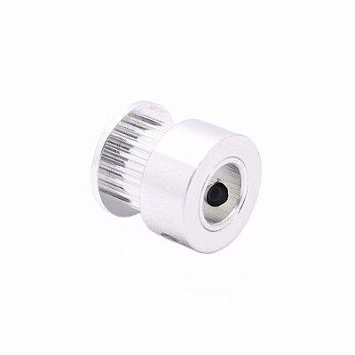 Polia GT2 16 Dentes, Furo 5mm, P/ Correia 6mm