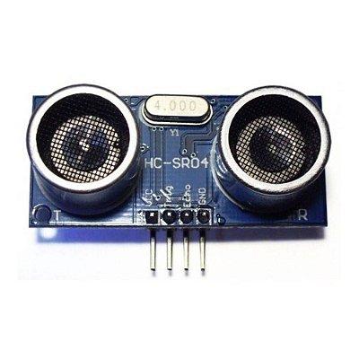 Sensor UltrassonicoHC SR04
