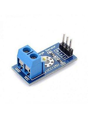 Sensor De Tensão 0-25 Vdc