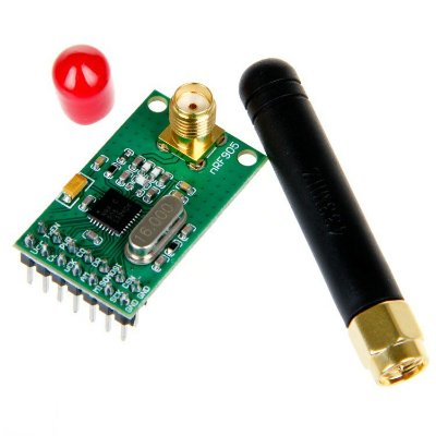 Modulo Wireless C/ Antena Nrf905 Ptr8000