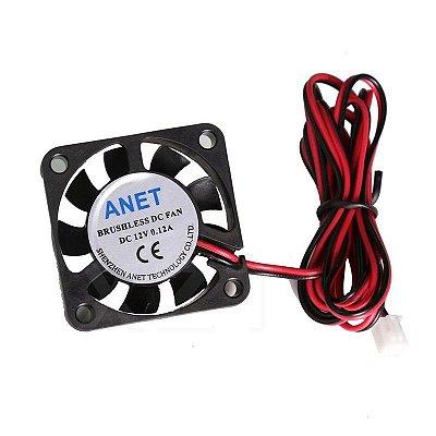 Micro Ventilador Cooler 40x40x10mm 12v - 4010