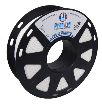 Filamento PLA Branco 1,75mm  PrintaLot - 1kg