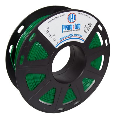 Filamento PLA Verde 1,75mm  PrintaLot - 1kg