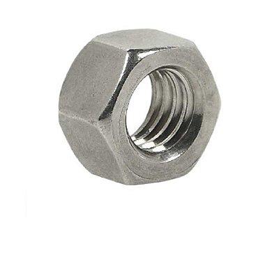 Porca Sextavada - DIN 934 - M5 - 0,80 - Aço Inox