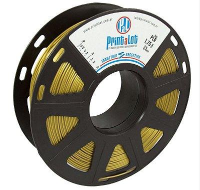 Filamento PLA Ouro Metalizado 1,75mm  PrintaLot - 1kg