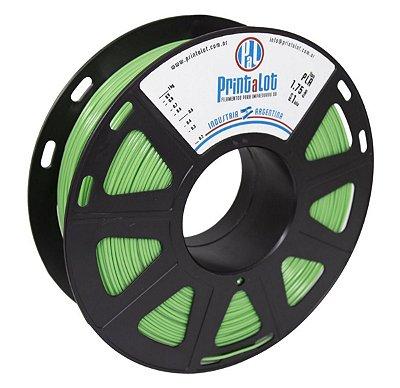 Filamento PLA Verde Maçã 1,75mm  PrintaLot - 1kg