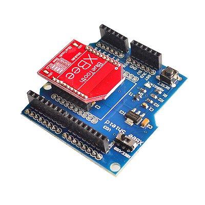 Shield V3 Arduino XBee Pro + Módulo Bluetooth HC-06 RF