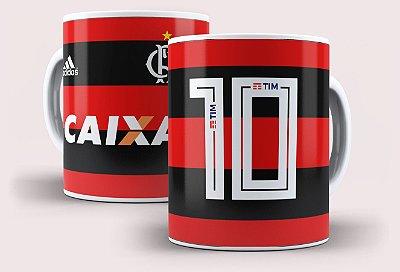 Caneca Flamengo N°10