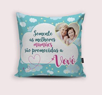 Almofada Mamãe promovida a Vovó