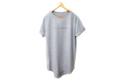 Camiseta Oversized Cinza Mescla