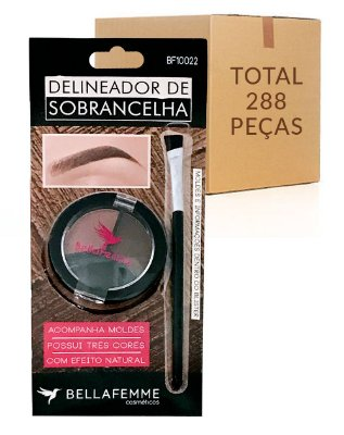 Delineador de Sobrancelhas – Bella Femme BF10022 – Caixa Fechada com 288 Kits