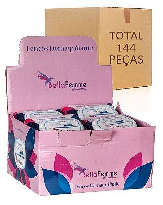 Lenço Demaquilante – Bella Femme BF10024 – Caixa Fechada com 12 Displays