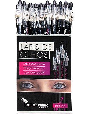 Lápis Preto de Olhos – Display com 36 unidades