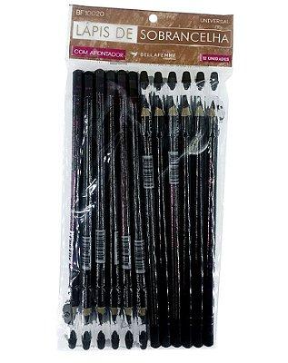 Lápis Universal de Sobrancelhas – Solapa com 12 unidades